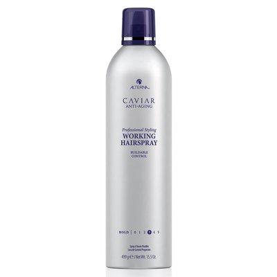 Alterna Caviar Professional Styling Working Hairspray - back bar 500ml