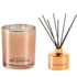Ted Sparks Rose Gold Cedarwood & African Flower Diffuser and Geurkaars Combi Pack