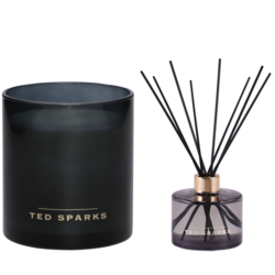 Ted Sparks White Tea and Chamomile Diffuser & Geurkaars Combi Pack