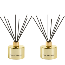 Ted Sparks Gold Fig & Honey Diffuser 2 Stuks