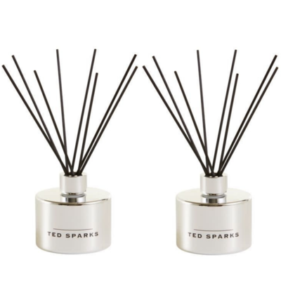 Ted Sparks Silver Amber and Pepper Diffuser 2 Stuks