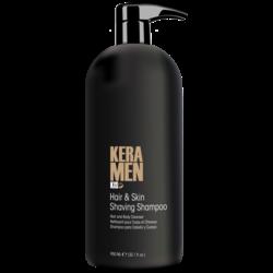 KIS Champú para afeitar cabello y piel KeraMen 950ml