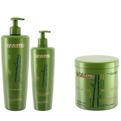 Imperity Mi Dollo Di Bamboo Shampoo und Conditioner + Kostenlose Maske 1000ml