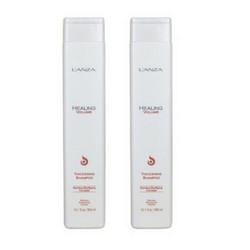 Lanza Shampoo addensante volumizzante 300 ml Duopack