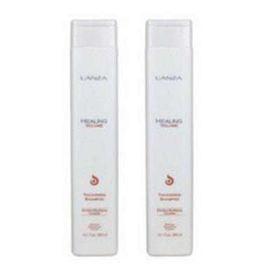 Lanza Healing Volume Thickening Shampoo 300ml  Duopack