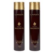 Lanza Keratin Healing Oil Shampoo 300ml Duopack