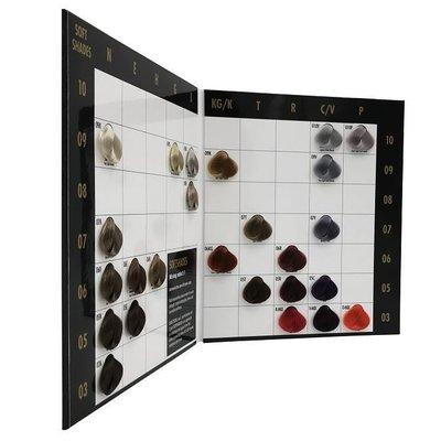 KIS Carta de colores Royal SoftShades