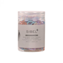Sibel Elastische Haargurte 500 Stk
