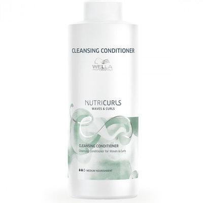 Wella Acondicionador de limpieza Nutricurls Waves & Curls