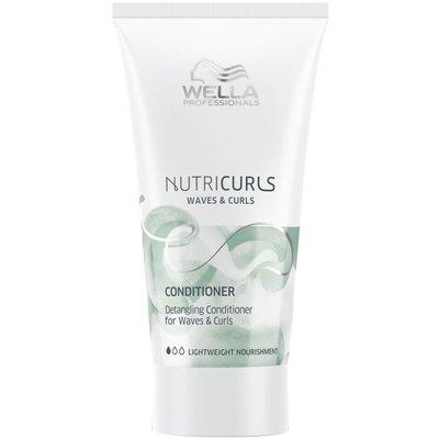 Wella Nutricurls Waves & Curls Anti-Klit Conditioner