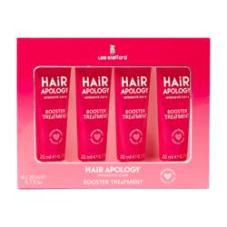 Lee Stafford Hair Apology Booster Treatment Masken 4 x 20 ml