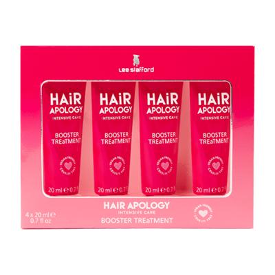 Lee Stafford Hair Apology Booster Treatment Masks 4 x 20ml