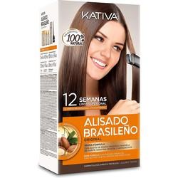 Kativa Kit de sistema recto alisador brasileño