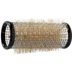 Sibel Metal Curlers / Rollers 12 pieces - 28mm - Black - Large