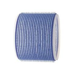 Sibel Self-adhesive Rollers 3 Pieces - 80mm - Dark Blue
