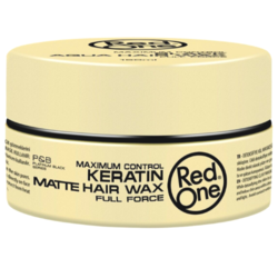 Red One Keratin Mattes Haarwachs