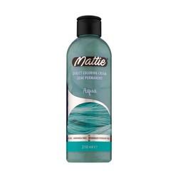 Mattie Crema Colorante Directa Semi Permanente Aqua 210ml