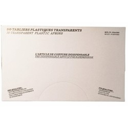 Sibel Einwegschürzen Transparent 50 Stk