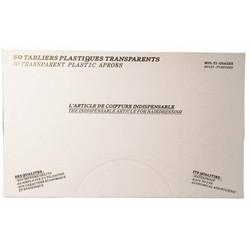 Sibel Tabliers jetables transparents 50 pcs