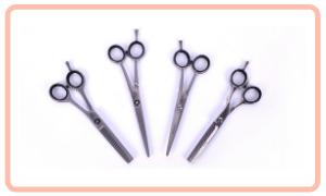 Hairdressing scissors