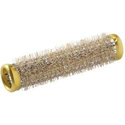 Sibel Lockenwickler / Walzen aus Metall 12 Stück - 13 mm - Gold - 65 mm