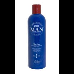 CHI Man The One 3 en 1 shampooing, revitalisant et nettoyant pour le corps
