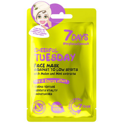 7Days Face Sheet Mask Cheerful Tuesday 28gr