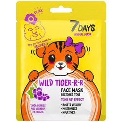 7Days Face mask WILD TIGER-RR 28gr