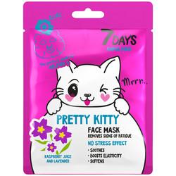 7Days Gesichtsblattmaske PRETTY KITTY 28gr