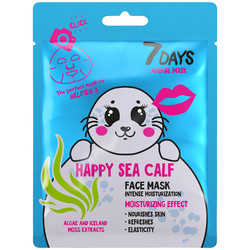 7Days Face Sheet Mask HAPPY SEA CALF 28gr
