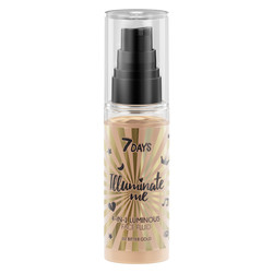 7Days Illuminate Me Miss Crazy 4 in 1 Illuminating Face Fluid 50ml