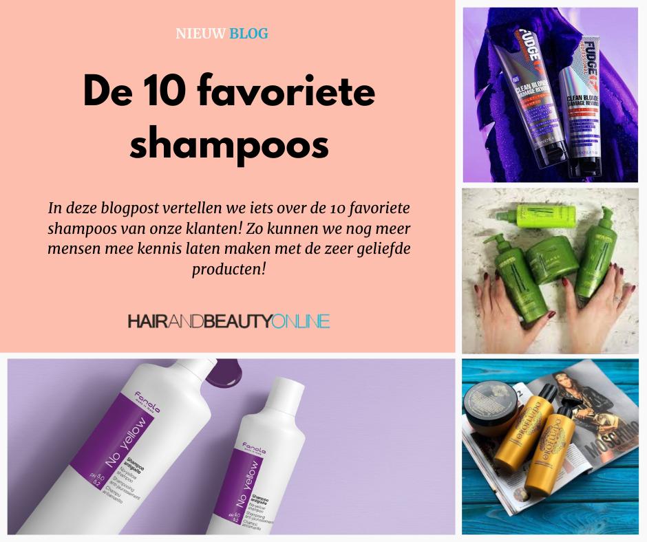 Top 10 favoriete shampoos!