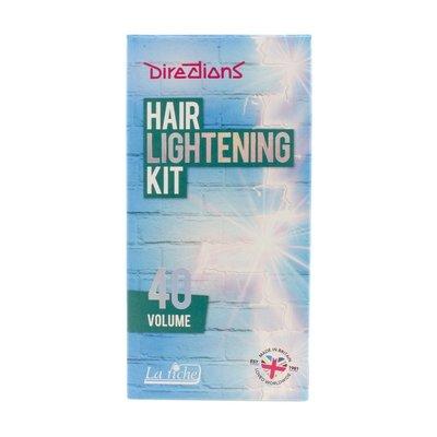 La Riche Instrucciones para el kit de aclarado del cabello (40 VOL)