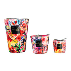 Victoria with Love Velvet Flower XL Scented Candle
