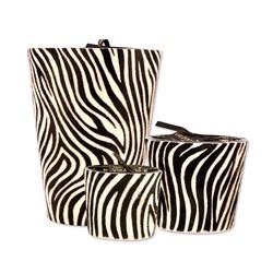 Victoria with Love Zebra Black XL Geurkaars