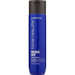 Matrix Total Results Brass Off Shampooing 300ml