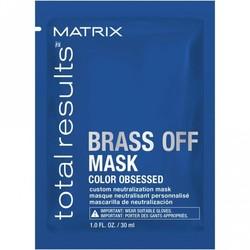 Matrix Gesamtergebnis Brass Off Mask 30ml