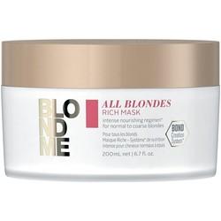 Schwarzkopf Blond Me All Blondes Rich Mask 200ml