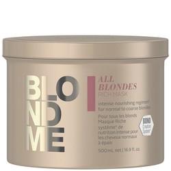 Schwarzkopf Blond Me All Blondes Rich Mask 500ml