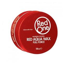 Red One Red Aqua Hair Wax 4 Stuks