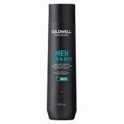 Goldwell Champú para cuerpo y cabello para hombre 300ml