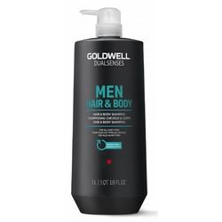 Goldwell For Men Hair & Body Shampoo 1000ML