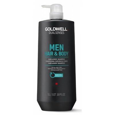 Goldwell Für Männer Haar- und Körpershampoo 1000ML