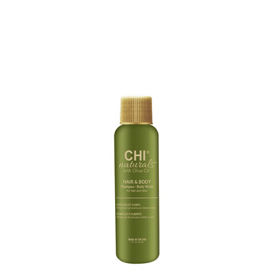 CHI Naturals with Olive Oil Hair Shampoo & Body Wash 30ml