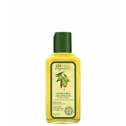 CHI Productos naturales con aceite de oliva aceite para el cabello y el cuerpo 59ml