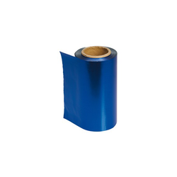 Sibel Lámina de forma rápida coloreada, 100 m, 12 cm, AZUL