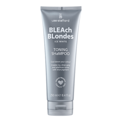 Lee Stafford Bleach Blondes Ice White Toning Shampoo 250ml