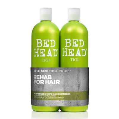 Tigi Bed Head Re-Energize Tween Set (2x750ml)