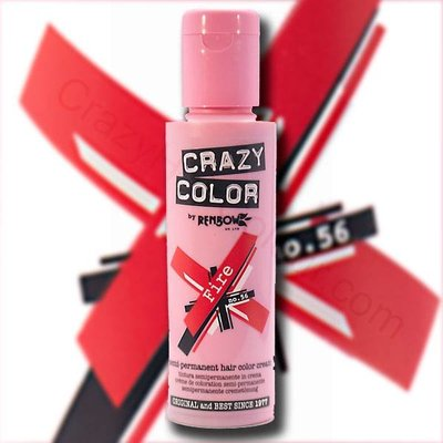 Crazy Color feu 100 ml