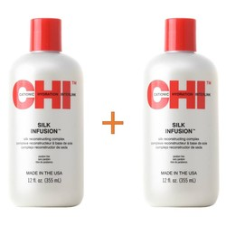 CHI Silk Infusion 355ml Duopack